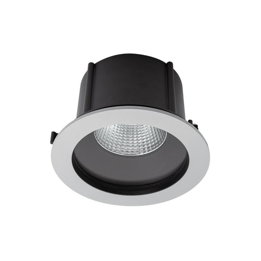 Exterior Commercial Recessed Large Low Glare <25.5W- Silver - The Lighting Shop