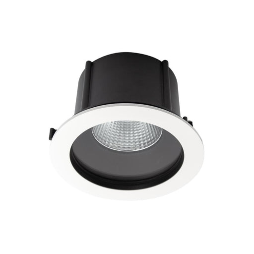 Exterior Commercial Recessed Large Low Glare <25.5W- White - The Lighting Shop