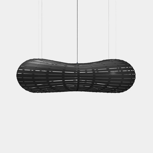 Black Both Sides Cloud Pendants - The Lighting Shop