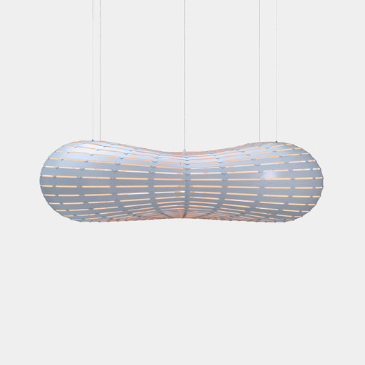 White Both Sides Cloud Pendants - The Lighting Shop