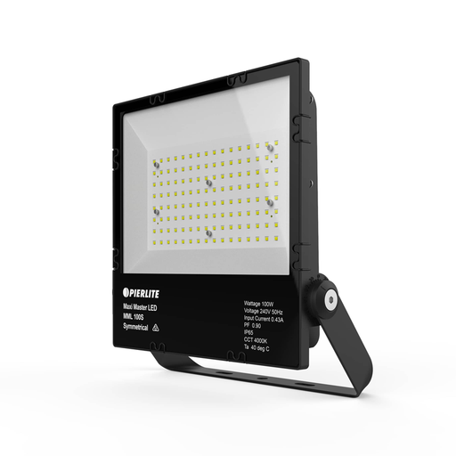 Maxi Master LED Floodlight 300W Symmetrical 4000K Natural White - The Lighting Shop