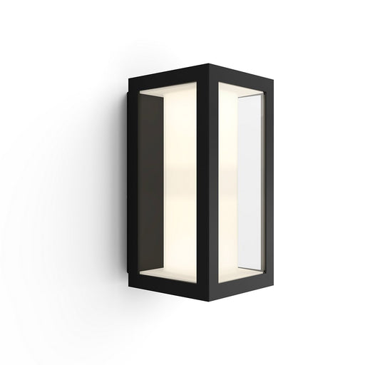 IMPRESS HUE WACA EU WALL LANTERN BLACK 2 - The Lighting Shop