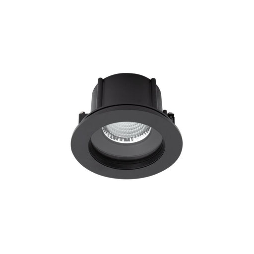 Exterior Commercial Recessed Large Low Glare <17.5W- Black - The Lighting Shop