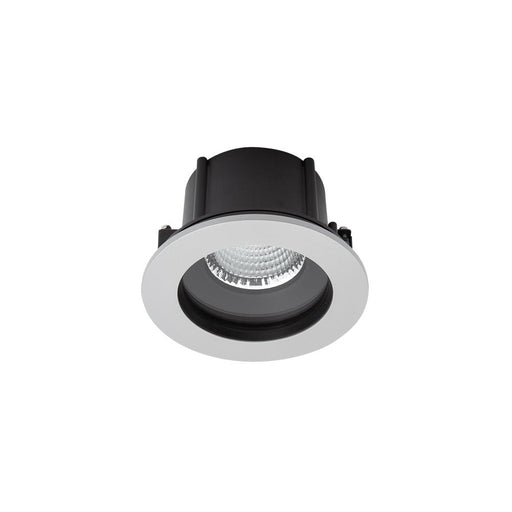 EXTERIOR COMMERCIAL RECESSED LARGE LOW GLARE <17.5W - Silver - The Lighting Shop