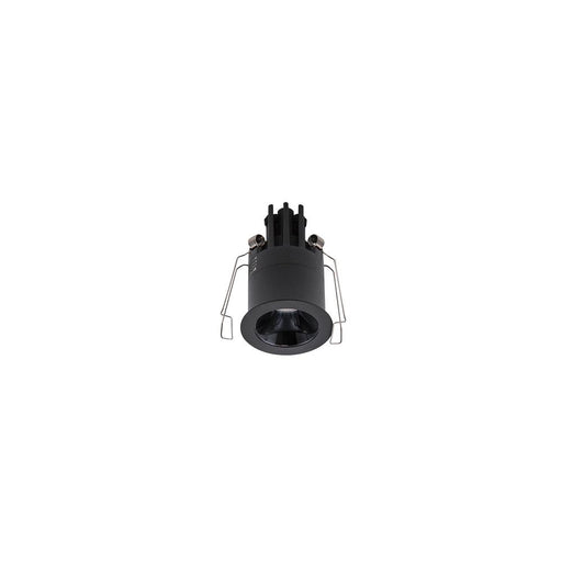 3W BLACK/BLACK 3000K WARM WHITE MINI ROUND DARK LIGHT D44 x 70mm - The Lighting Shop