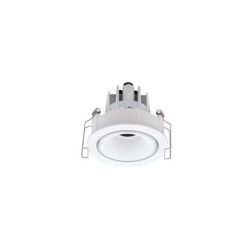 11W WHITE/WHITE 3000K WARM WHITE ROUND TILT/ROTATE CRI97 D86 x H66mm - The Lighting Shop