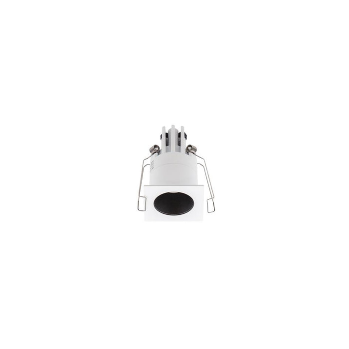 3W WHITE/MATT BLACK 3000K WARM WHITE MINI SQUARE DARK LIGHT L44 x W44 x H70mm - The Lighting Shop