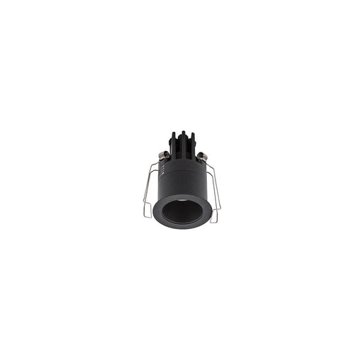 3W BLACK/MATT BLACK 3000K WARM WHITE MINI ROUND DARK LIGHT D44 x 70mm - The Lighting Shop