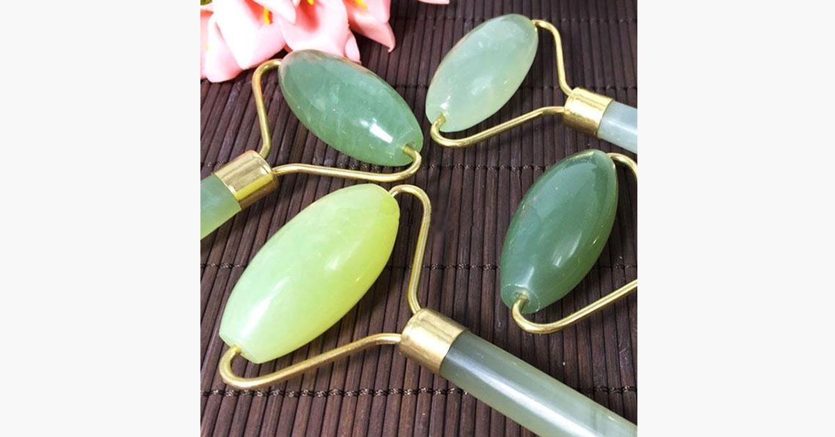 Jade Roller - Portable Facial Massager - BFCM