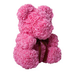 Flower Teddy Bear with Free Gift Box - BFCM