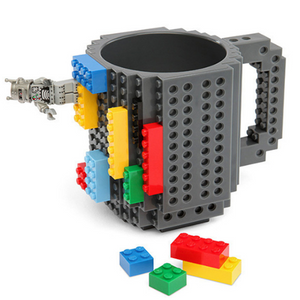 The Original Build-On Brick Mug - Best Seller - Black Friday Special - Deal Ends Soon