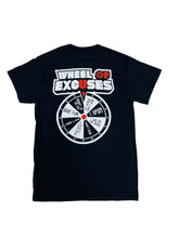 Load image into Gallery viewer, Wheel Of Excuses T-Shirt