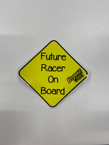 Future Racer On Board Sticker