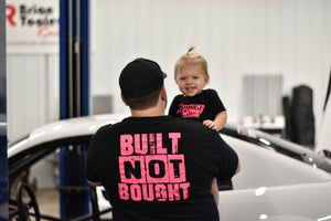 Pink Built Not Bought T-Shirt