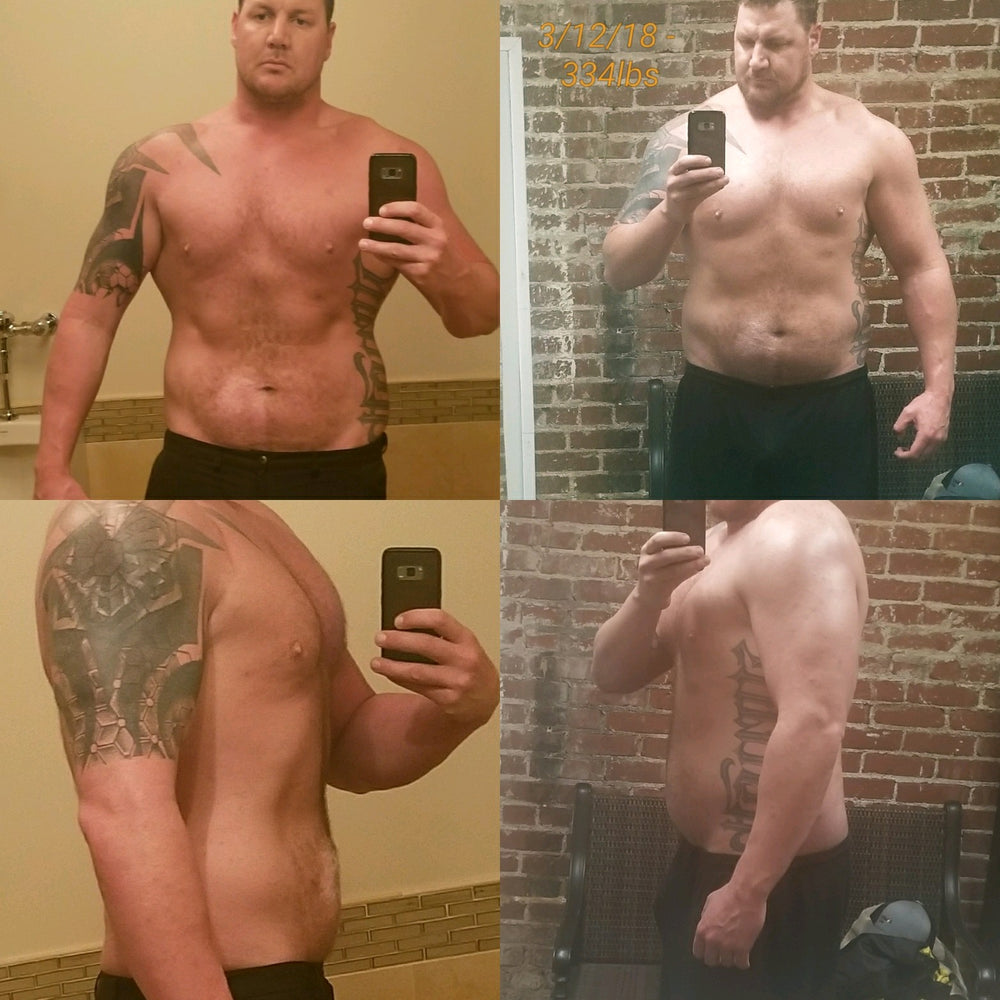 Chad lost 22 pounds in his first week. That's the new record.