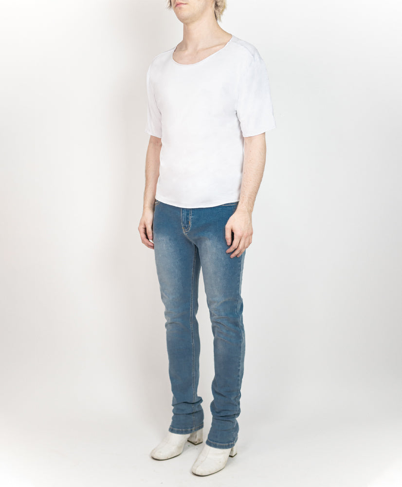 Feather Shirt Optic White - M120801HYB