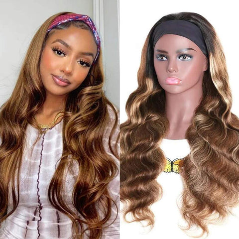 best amazon ombre head band wig