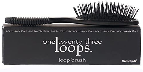 RemySoft One Twenty Three Loops - Loop Brush - Safe for Hair Extensions, Weaves and Wigs by RemySoft