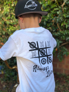 Toddler Tic-Tac-Toe Tee