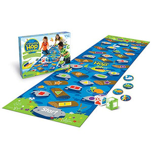Learning Resources Crocodile Hop Floor Game, Early Learning Skills, Individual Or Group Play, Ages 3+