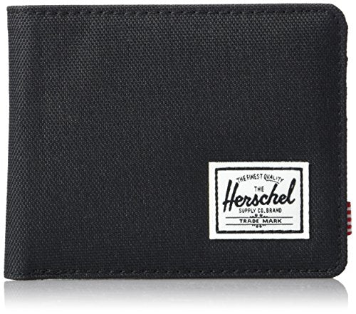 Herschel Men's Roy Wallet, Rfid black, One Size