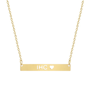 IHC Bar Necklace