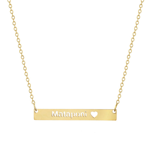 Mataponi Bar Necklace