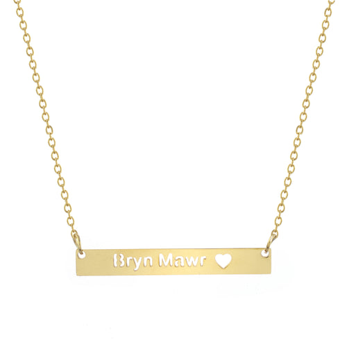 Bryn Mawr Bar Necklace