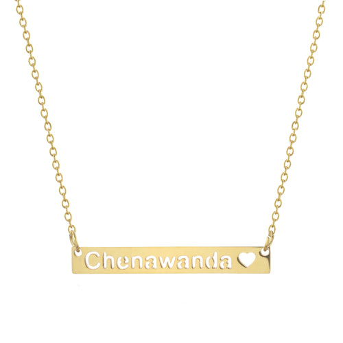 Chenawanda Bar Necklace
