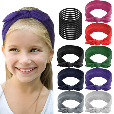 ShameOnJane 8 pack of Colorful Headbands for Girls
