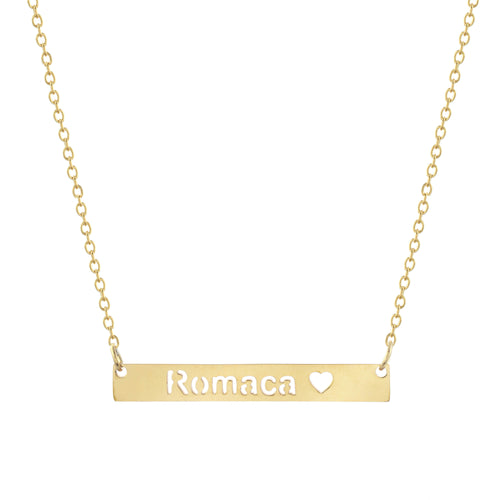 Romaca Bar Necklace