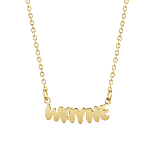 Wayne Camp Gold Necklace