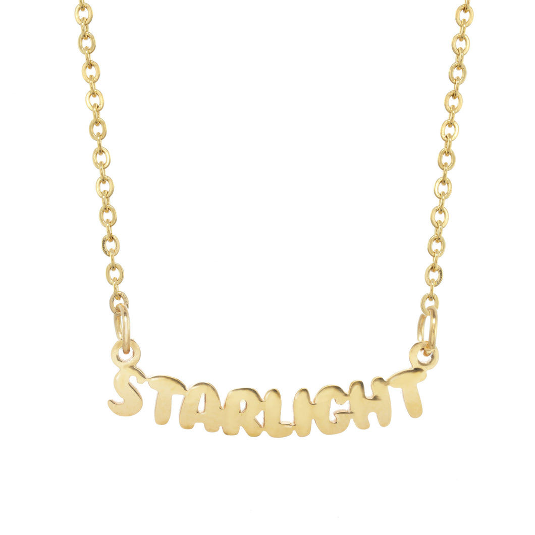 Starlight Camp Gold Necklace