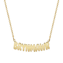 Bryn Mawr Camp Gold Necklace