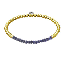 Navy and Gold Georgia Bracelet