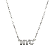 Silver NYC Necklace