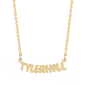 Tyler Hill Camp Gold Necklace