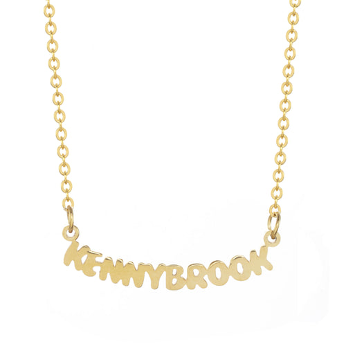 Kennybrook Camp Gold Necklace