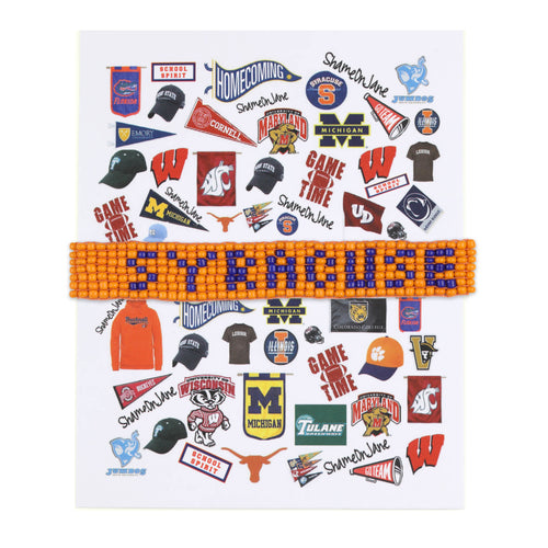 Syracuse Beaded Bracelet