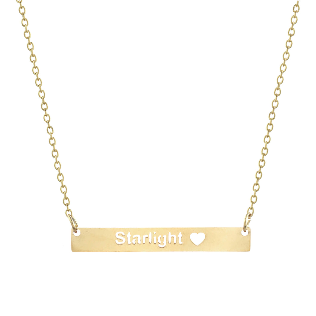 Starlight Bar Necklace