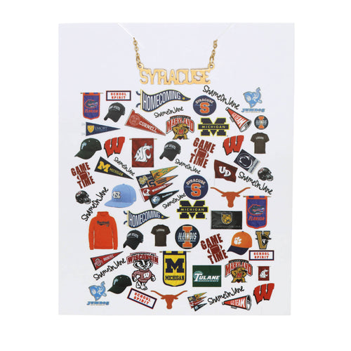 Syracuse University Necklace