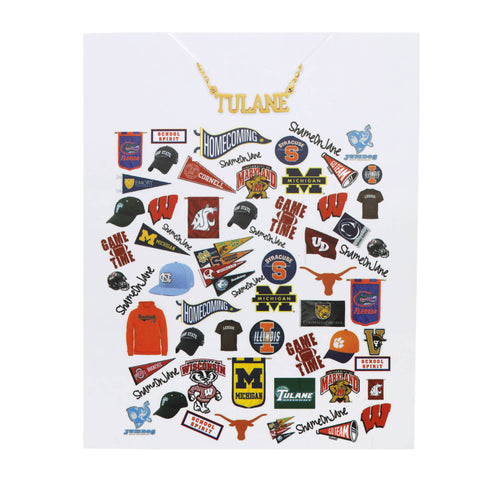 Tulane University Necklace