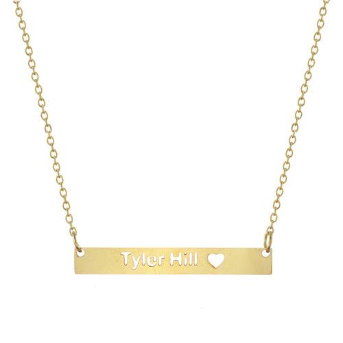 Tyler Hill Bar Necklace