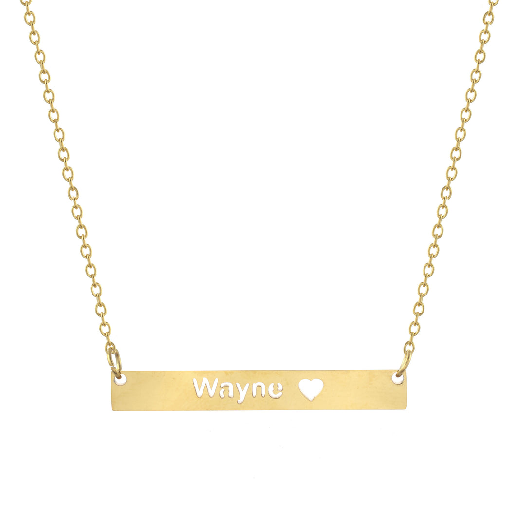 Wayne Bar Necklace