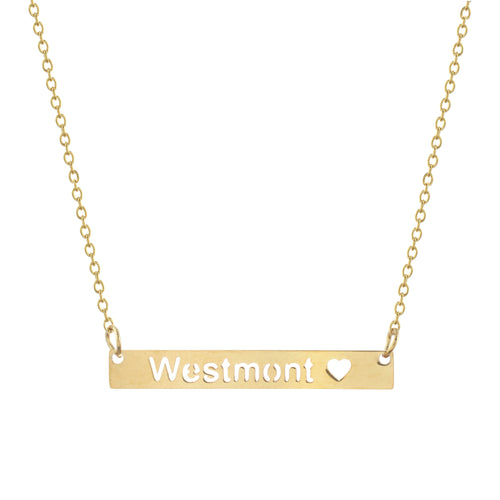 Westmont Bar Necklace