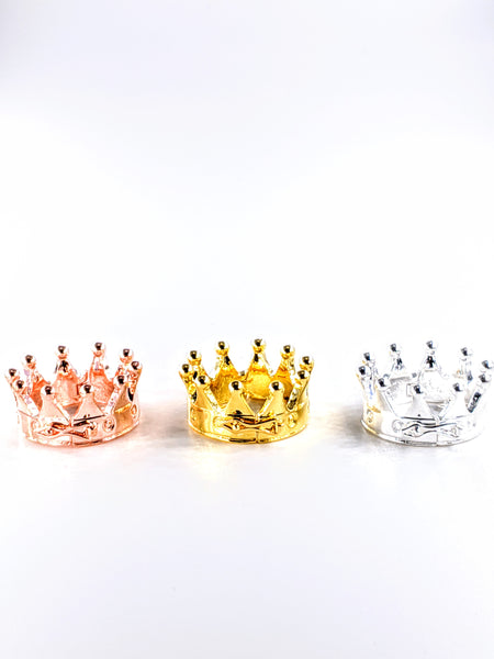 The Crown - Attachable to all Caps - Silver , Gold & Rose Gold