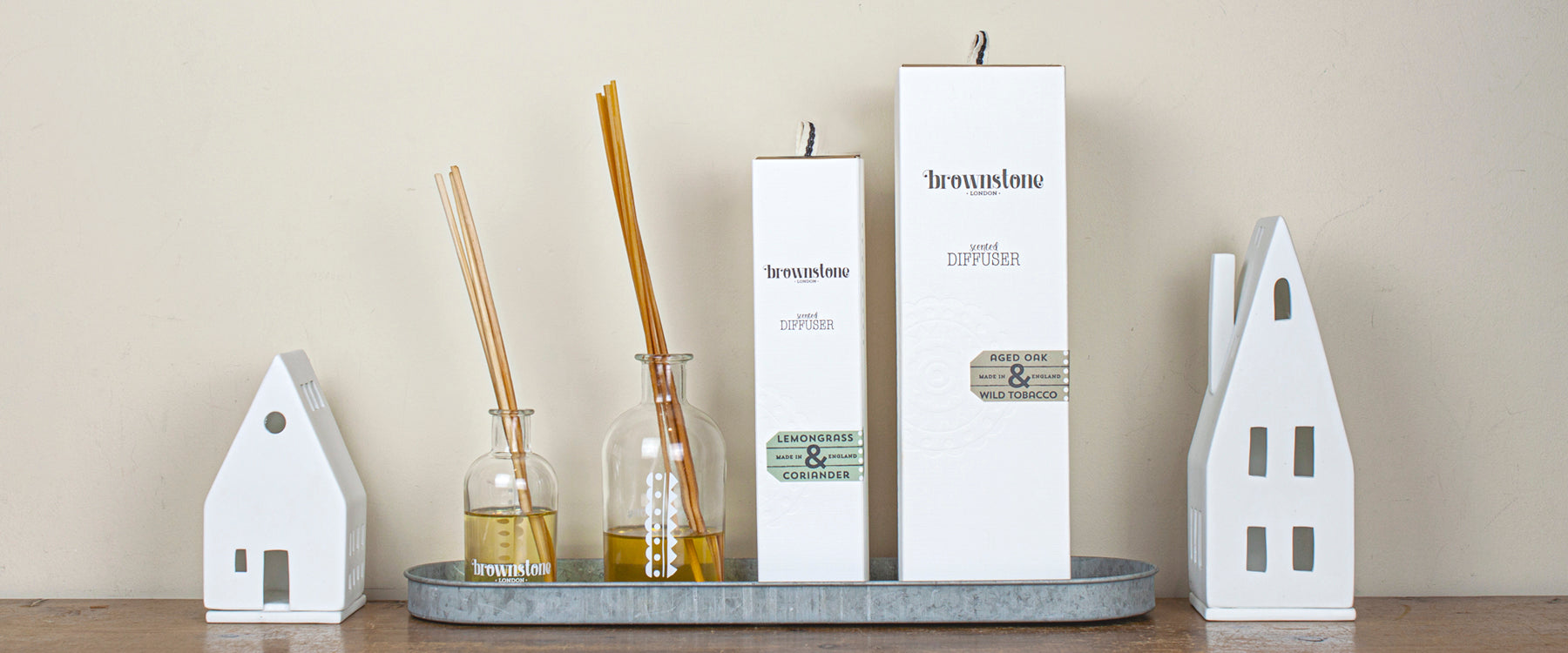 brownstone diffuser collection