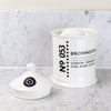 Bone China cotton wool jar