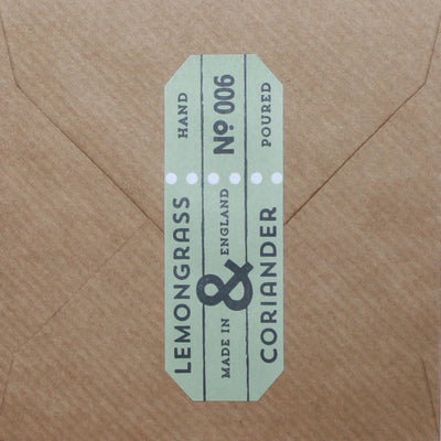 Lemongrass & Coriander Fragrance card