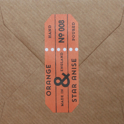 Orange & Star Anise Fragrance Card